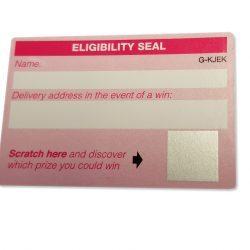 Scratch Off Labels