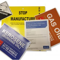 Industrial Office Labels