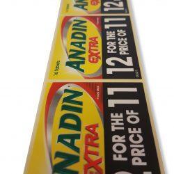 Anadin Labels