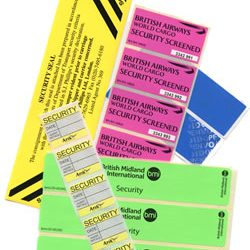 security and tamper labels