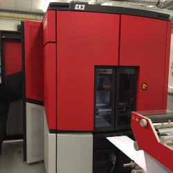 Xeikon CX3 Digital Label Press
