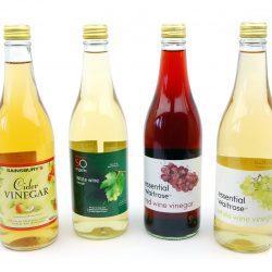 Waterproof Labels Vinegar Bottles